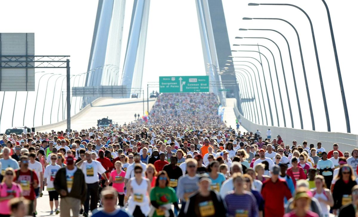 Cooper River Bridge Run Offramp