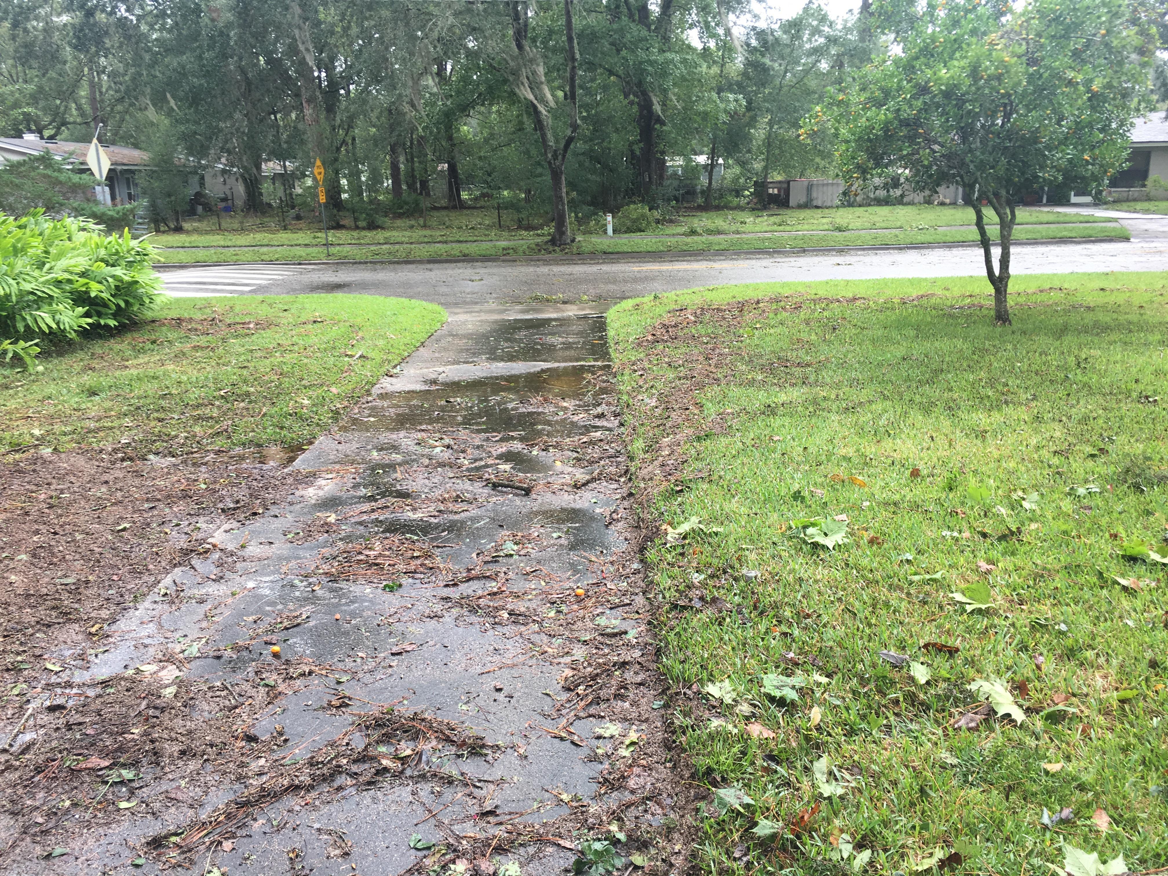 My house after hurricane Irma