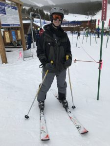 My first ski lesson