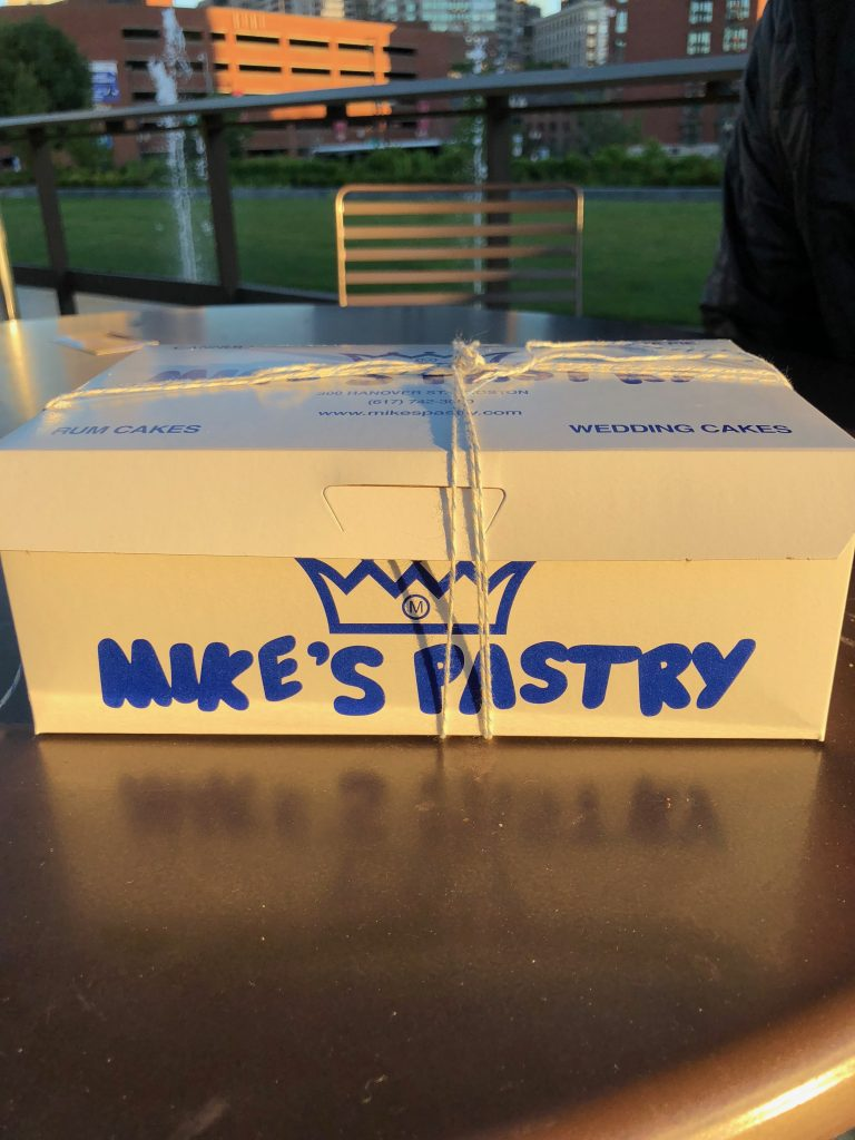 Mike's Pastry box of treats