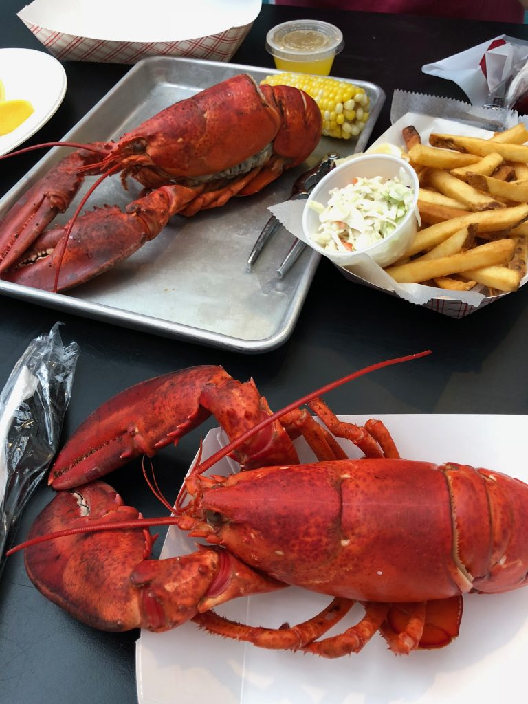 Lobsters from Yankee Lobster