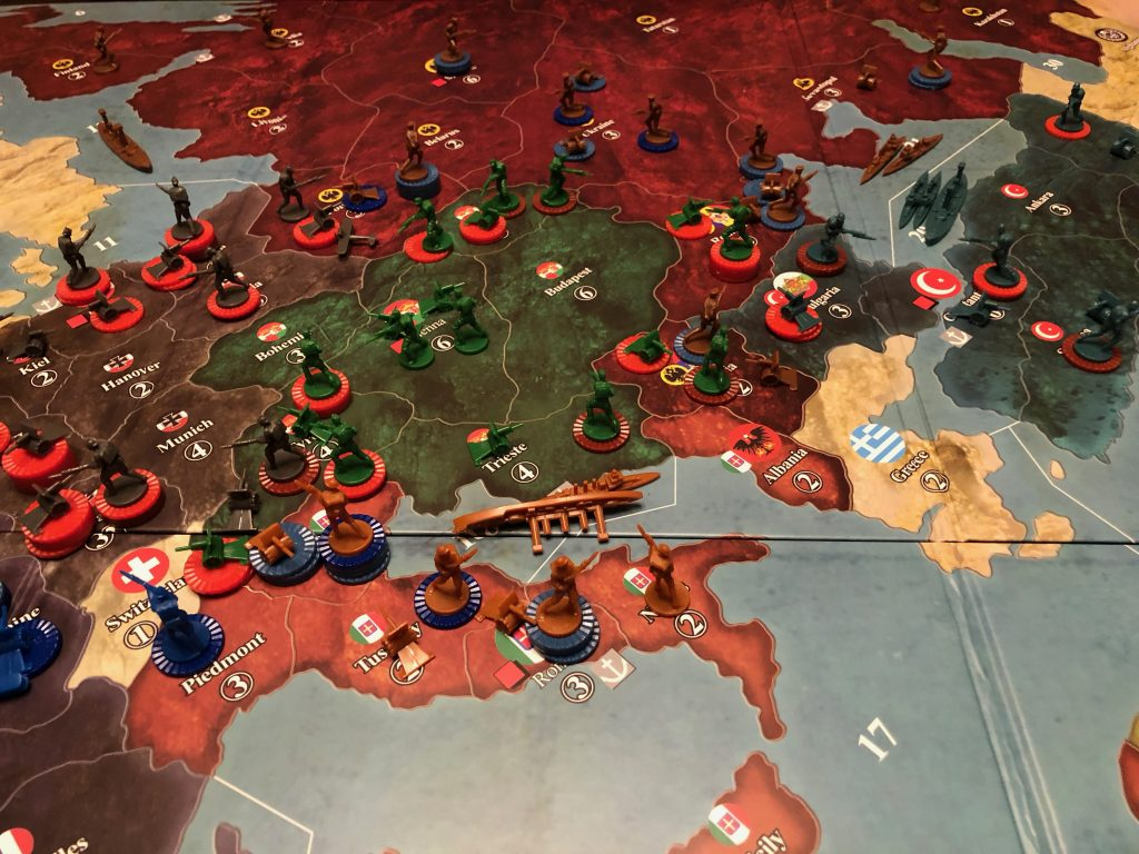 Axis & Allies: a 1914 - Eastern Front