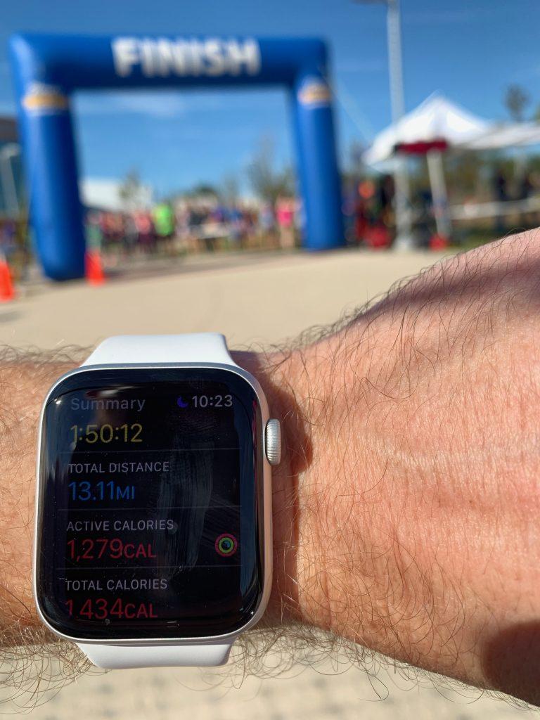 Half Marathon Split Times