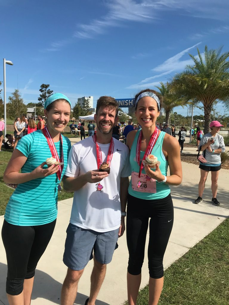 My first Half Marathon (with cupcakes!)