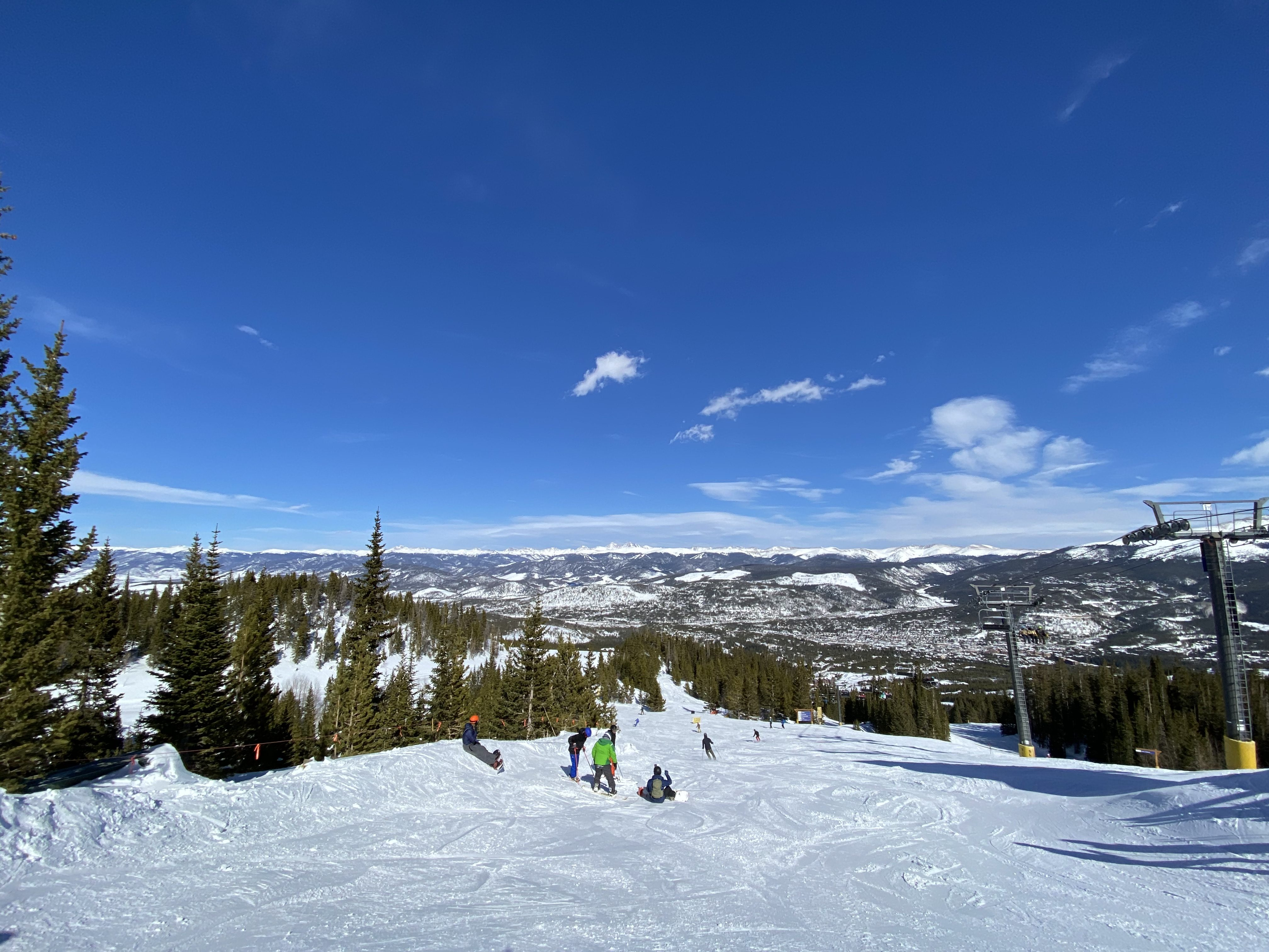 Last day on the slopes in Breck